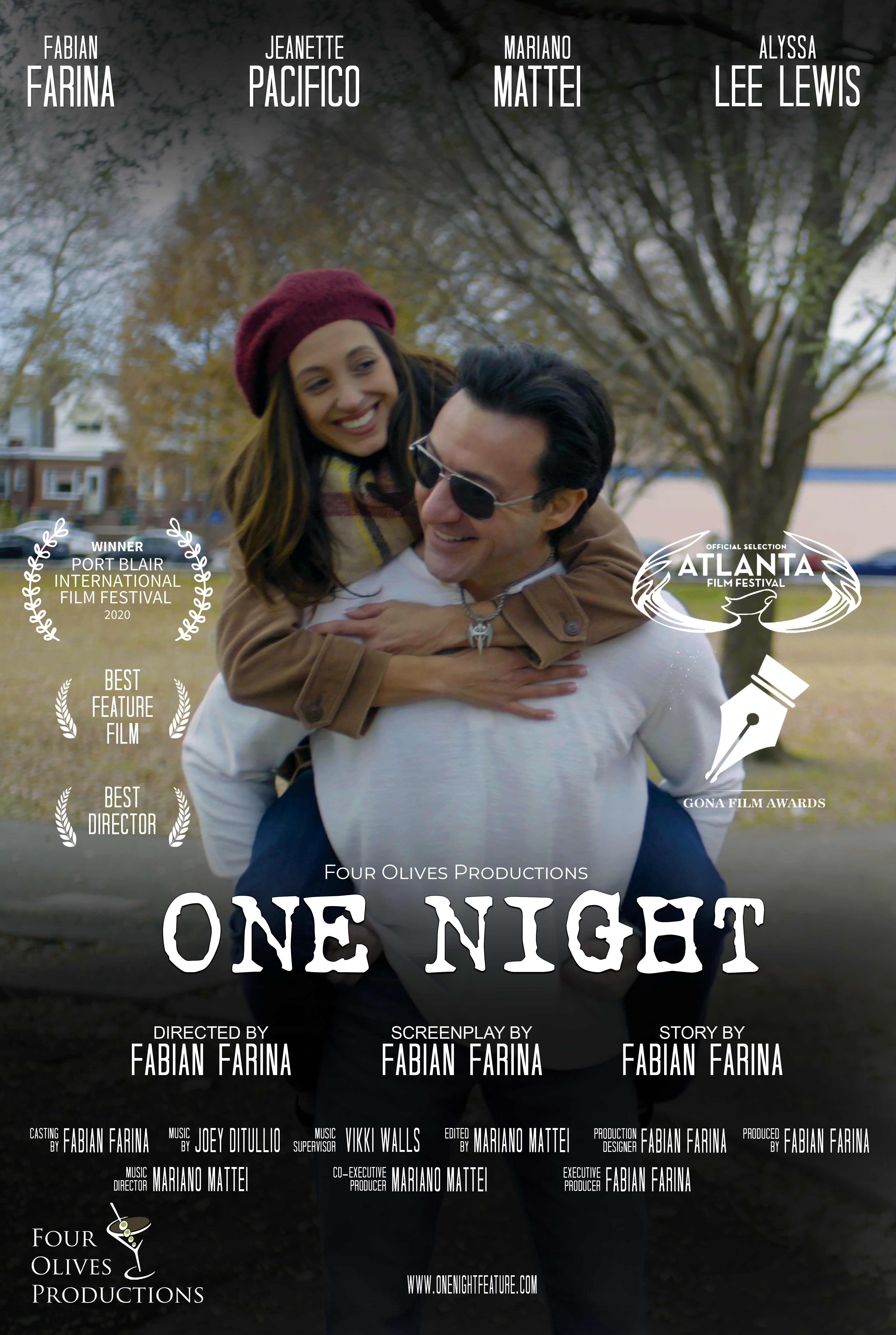 ONE NIGHT POSTER AWARDS